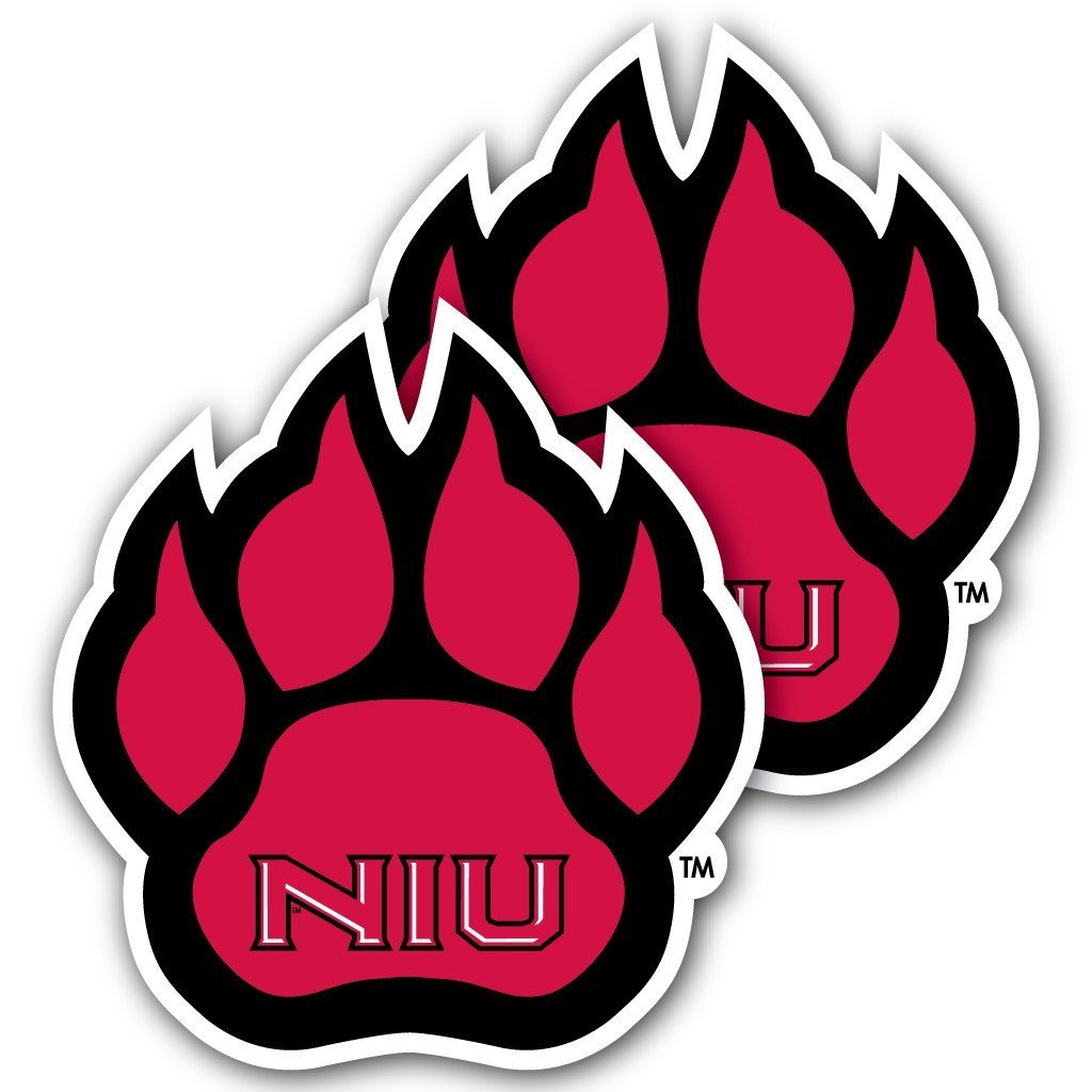 Northern Illinois University - Window Decal (Set of 2) - Paw