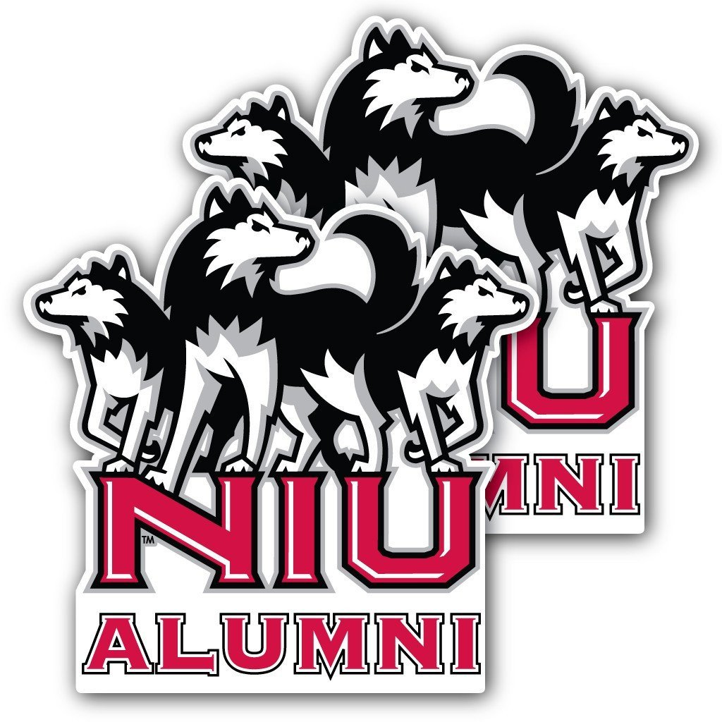Northern Illinois University - Window Decal (Set of 2) - Alumni