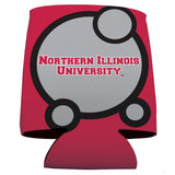 Northern Illinois University Can Coolers - Circles Design
