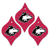 Northern Illinois University Ornament - Set of 3 Tapered Shapes