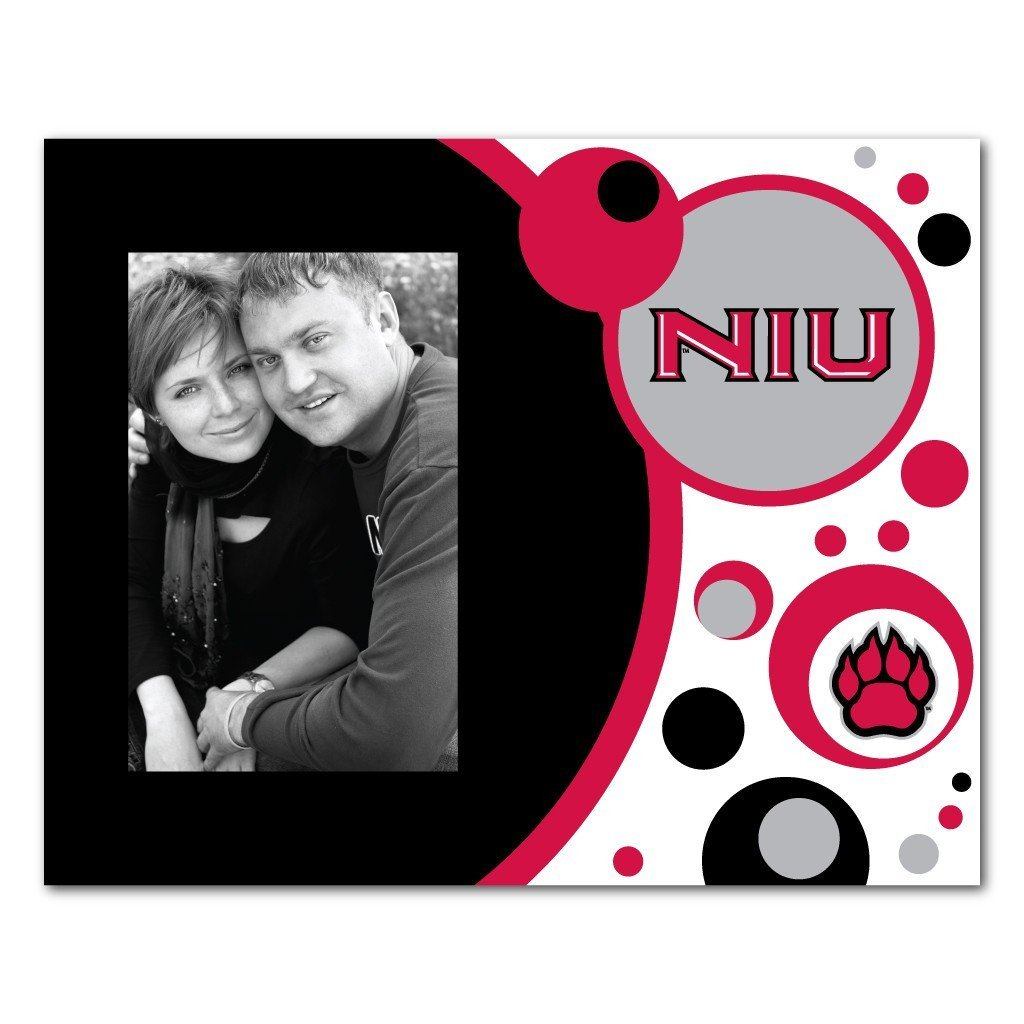 "Northern Illinois University Picture Frame "" Circles Design"