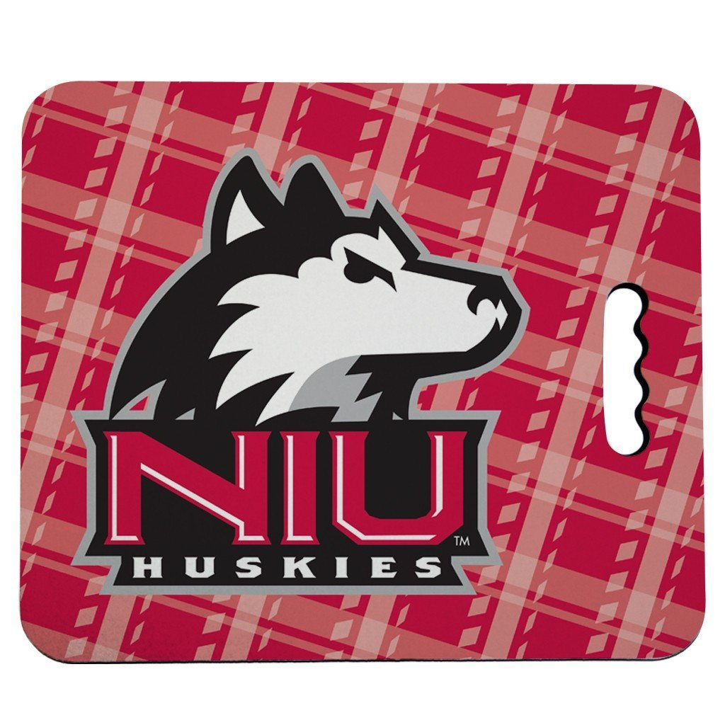 Northern Illinois University Stadium Seat Cushion - Plaid Design