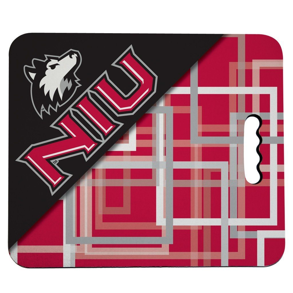 Northern Illinois University Stadium Seat Cushion - Squares Design