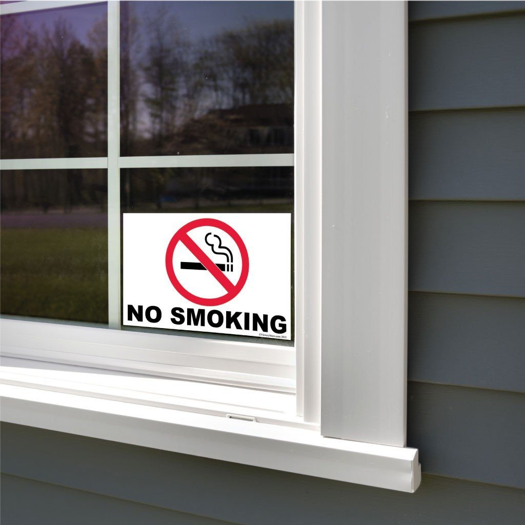 No Smoking Sign or Sticker - #3