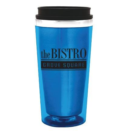 16 oz. Steel City Insulated Tumbler