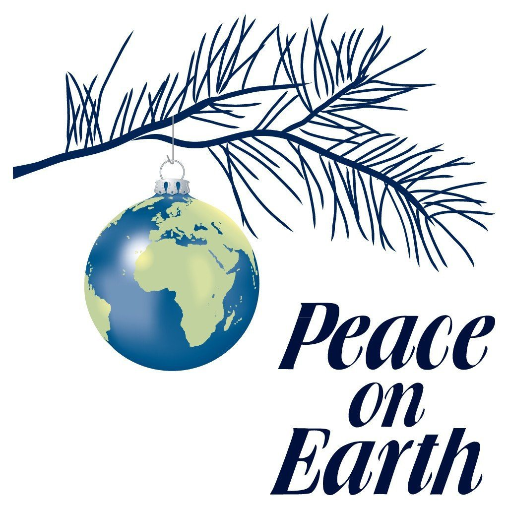 Peace on Earth Religious Christmas T-Shirt - FREE SHIPPING