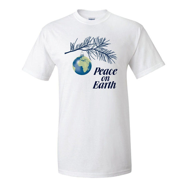 Peace on Earth Religious Christmas T-Shirt