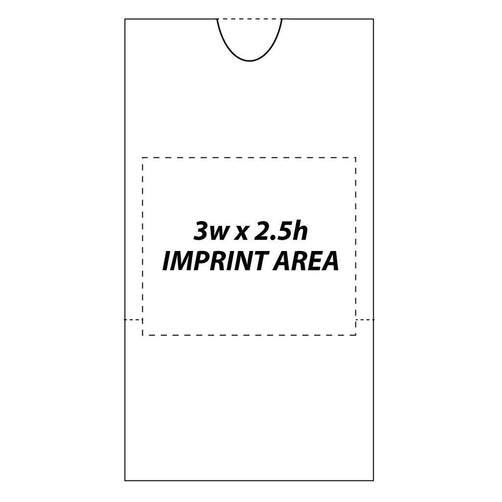 A 2D template for a peatnut bag