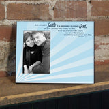 Hebrews 11:6 Decorative Picture Frame - Holds 4x6 Photo