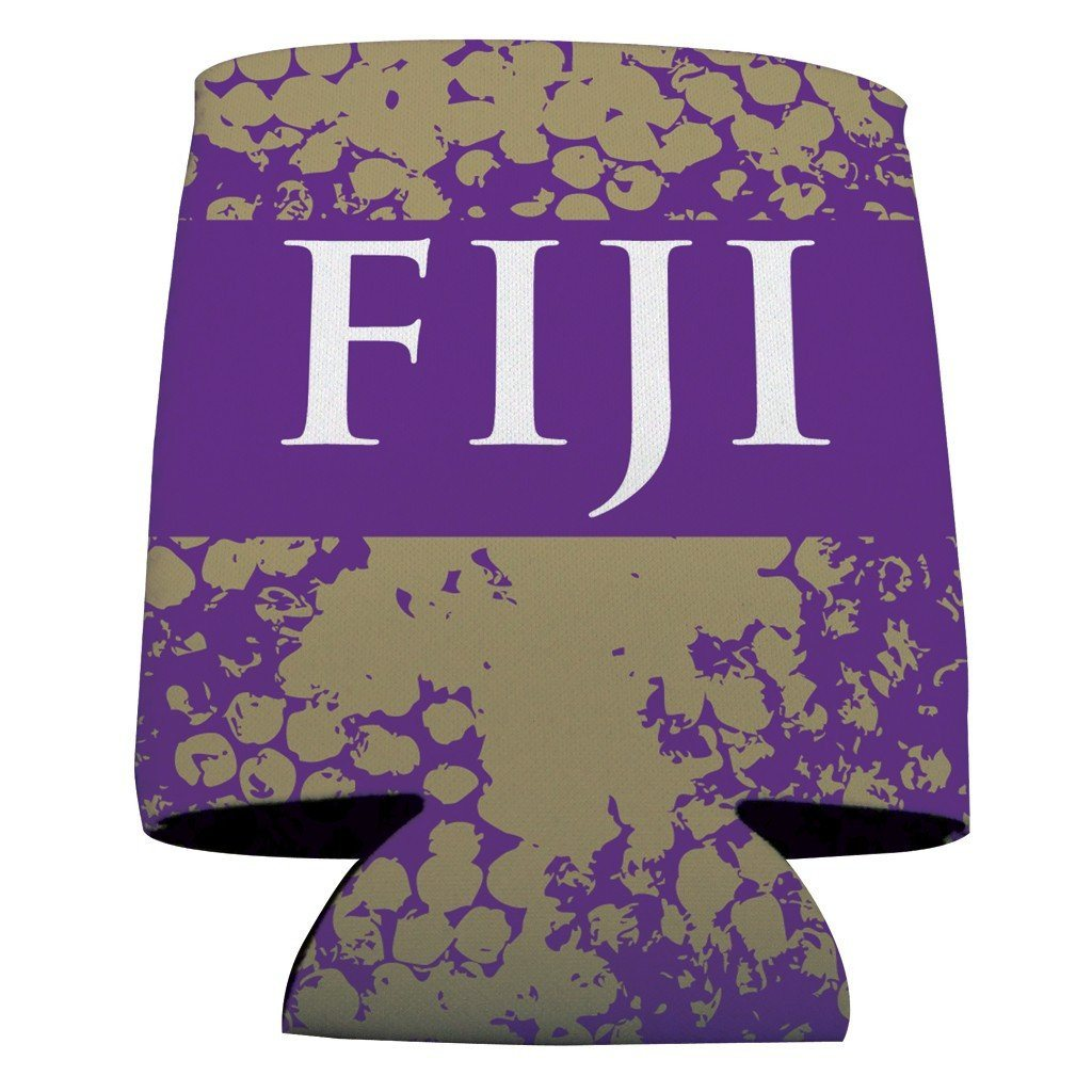 Phi Gamma Delta Can Cooler Set of 12 - FIJI & Grunge FREE SHIPPING