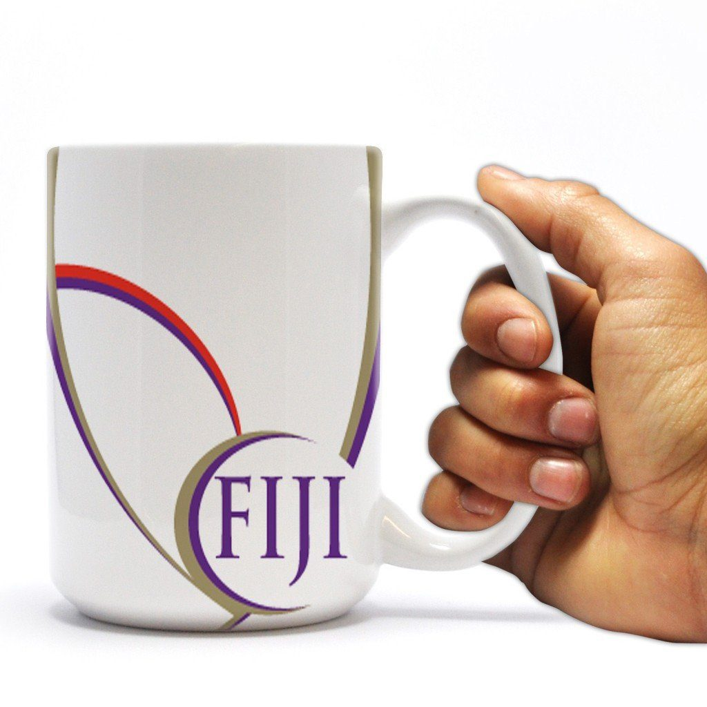 Phi Gamma Delta 15oz Coffee Mug Swoop Design