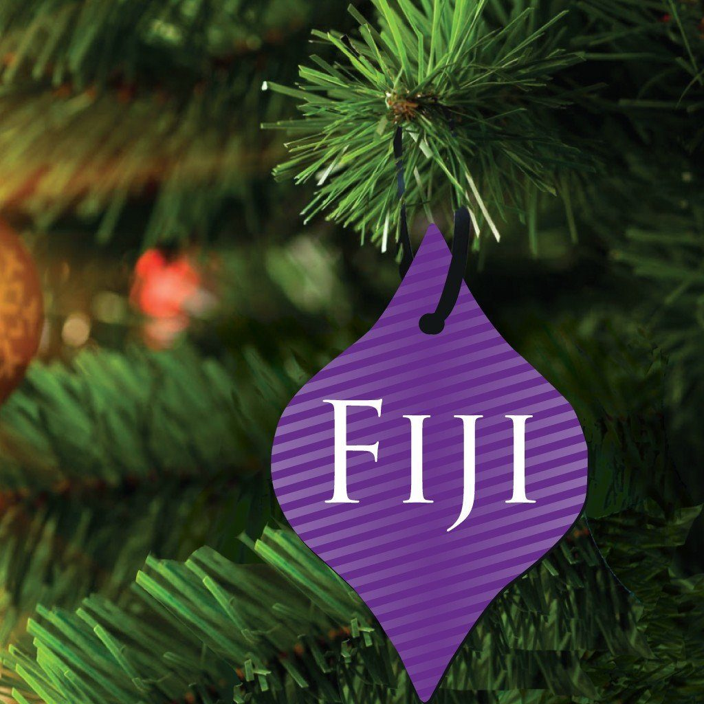 Phi Gamma Delta Ornament - Set of 3 Tapered Shapes - FREE SHIPPING