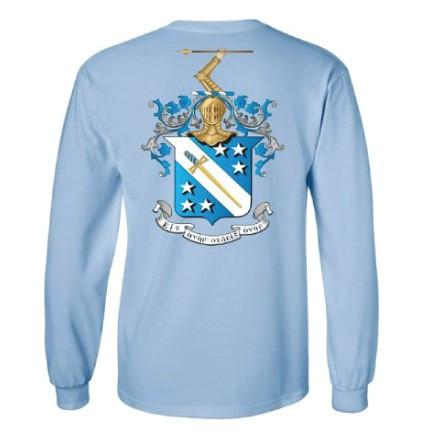 "Phi Delta Theta Long Sleeve Shirt ""Become the Greatest Version of"
