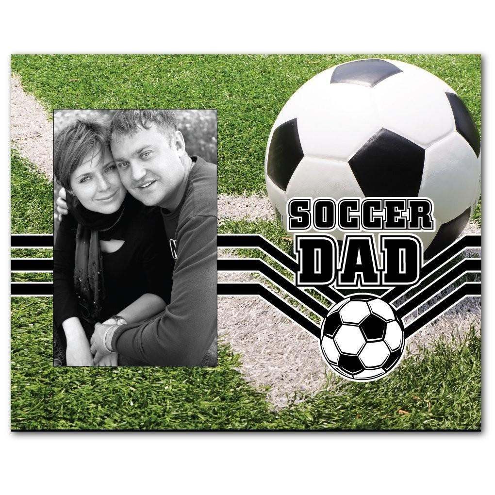 Soccer Dad Picture Frame - Holds 4x6 Photo