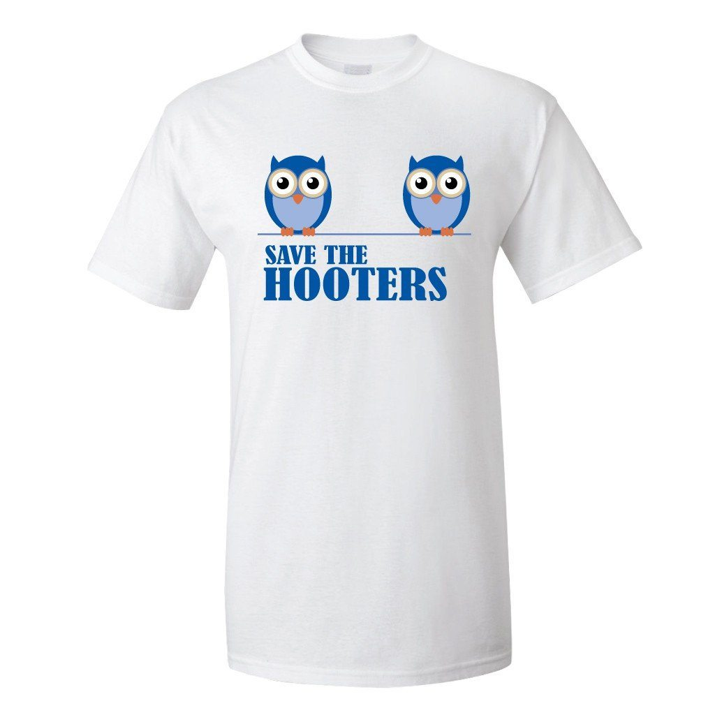 Save the Hooters Breast Cancer Awareness T-Shirt - FREE SHIPPING