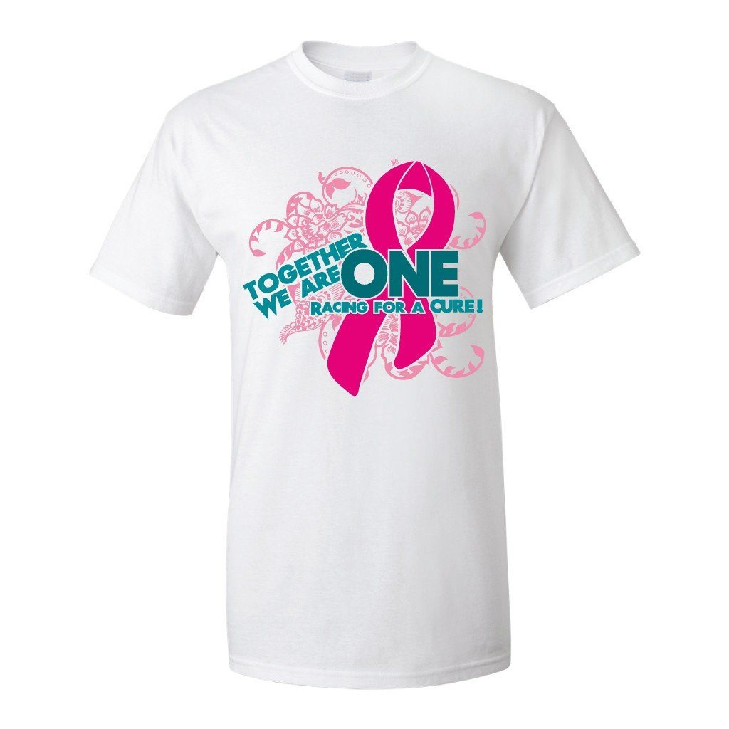 Together We Are One Breast Cancer Awareness T-Shirt - FREE SHIPPING