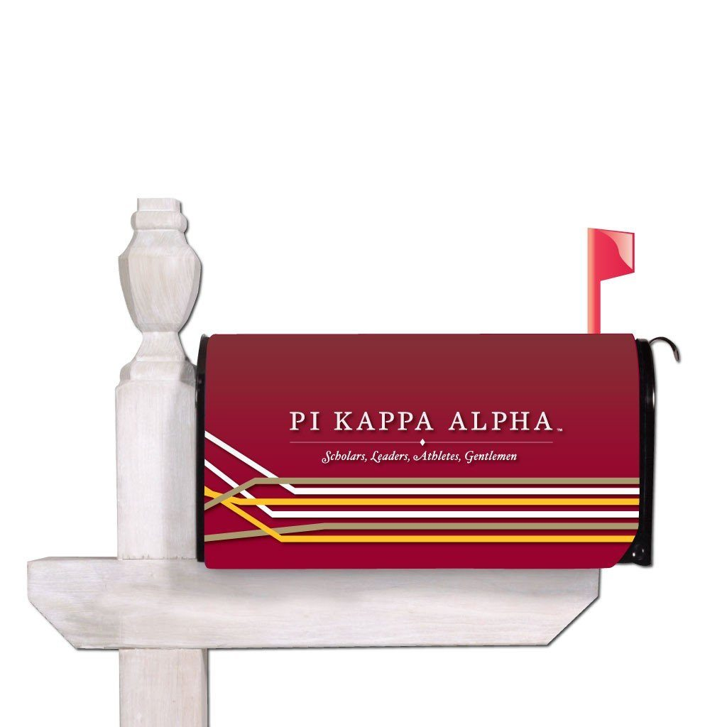 Pi Kappa Alpha Magnetic Mailbox Cover - Design 2