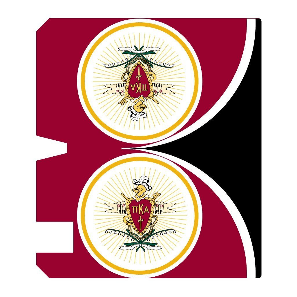 Pi Kappa Alpha Magnetic Mailbox Cover - Design 4