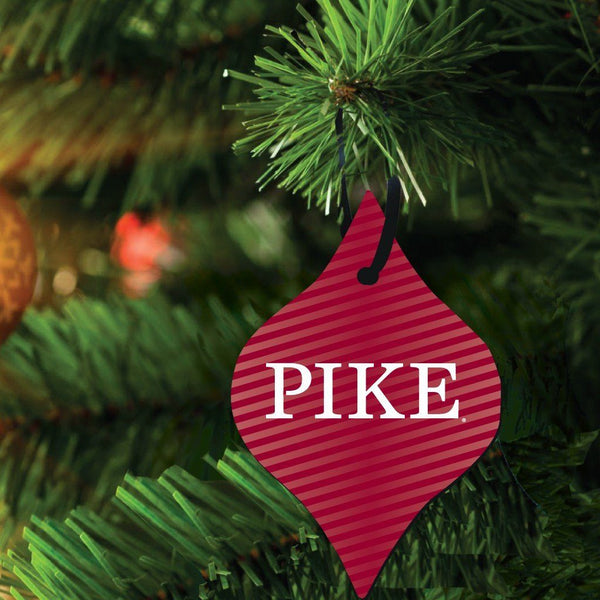 Pi Kappa Alpha Ornament - Set of 3 Tapered Shapes