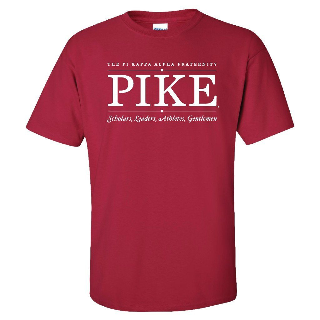 Pi Kappa Alpha Scholars, Leaders, Athletes, Gentleman T-Shirt - FREE SHIPPING