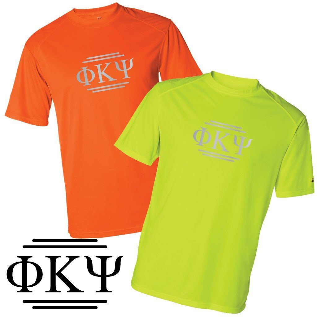 Phi Kappa Psi Men's SafetyRunner Performance T-Shirt - FREE SHIPPING