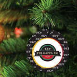 Phi Kappa Psi Ornament - Set of 3 Circle Shapes