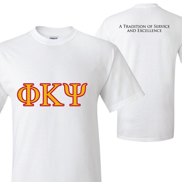 "Phi Kappa Psi Standard T-shirt ""A Tradition of Service and Excellence"""
