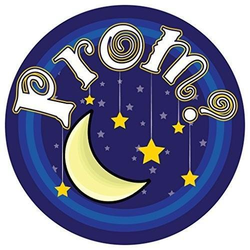 "Promposal Yard Sign - Moon and Stars ""Prom?"" - FREE SHIPPING"