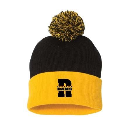 Riverdale Rams Embroidered Beanie