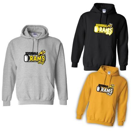 Riverdale Rams Golf Hooded Sweatshirt