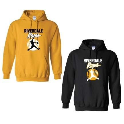 Riverdale Rams Softball Hooded Sweatshirt