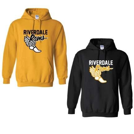 Riverdale Rams Track Hooded Sweatshirt