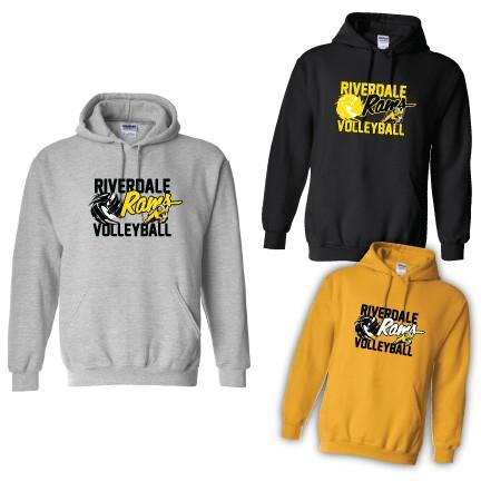 Riverdale Rams Volleyball Hooded Sweatshirt