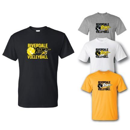 Riverdale Rams Volleyball T-Shirt