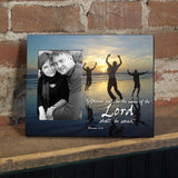Romans 10:13 Decorative Picture Frame - Holds 4x6 Photo