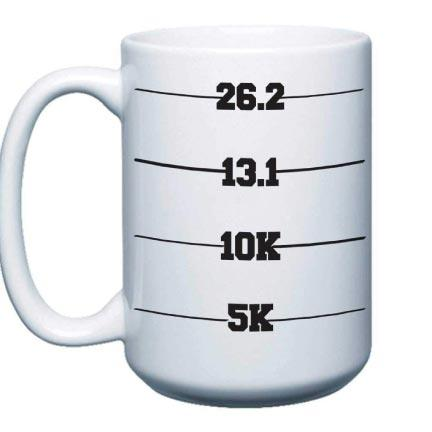 Runner's Measurement Coffee Mug