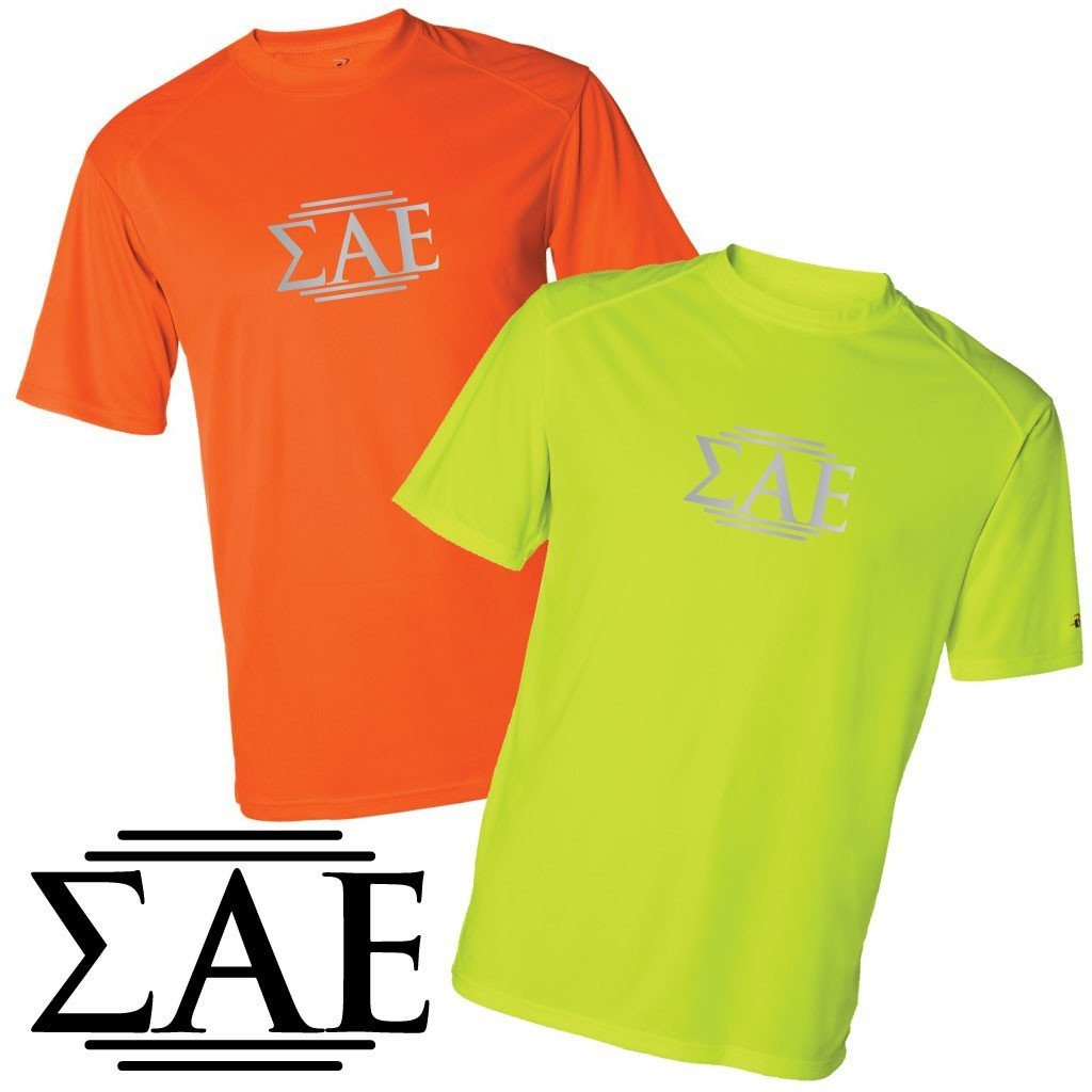 Sigma Alpha Epsilon Men's SafetyRunner Performance T-Shirt - FREE SHIPPING
