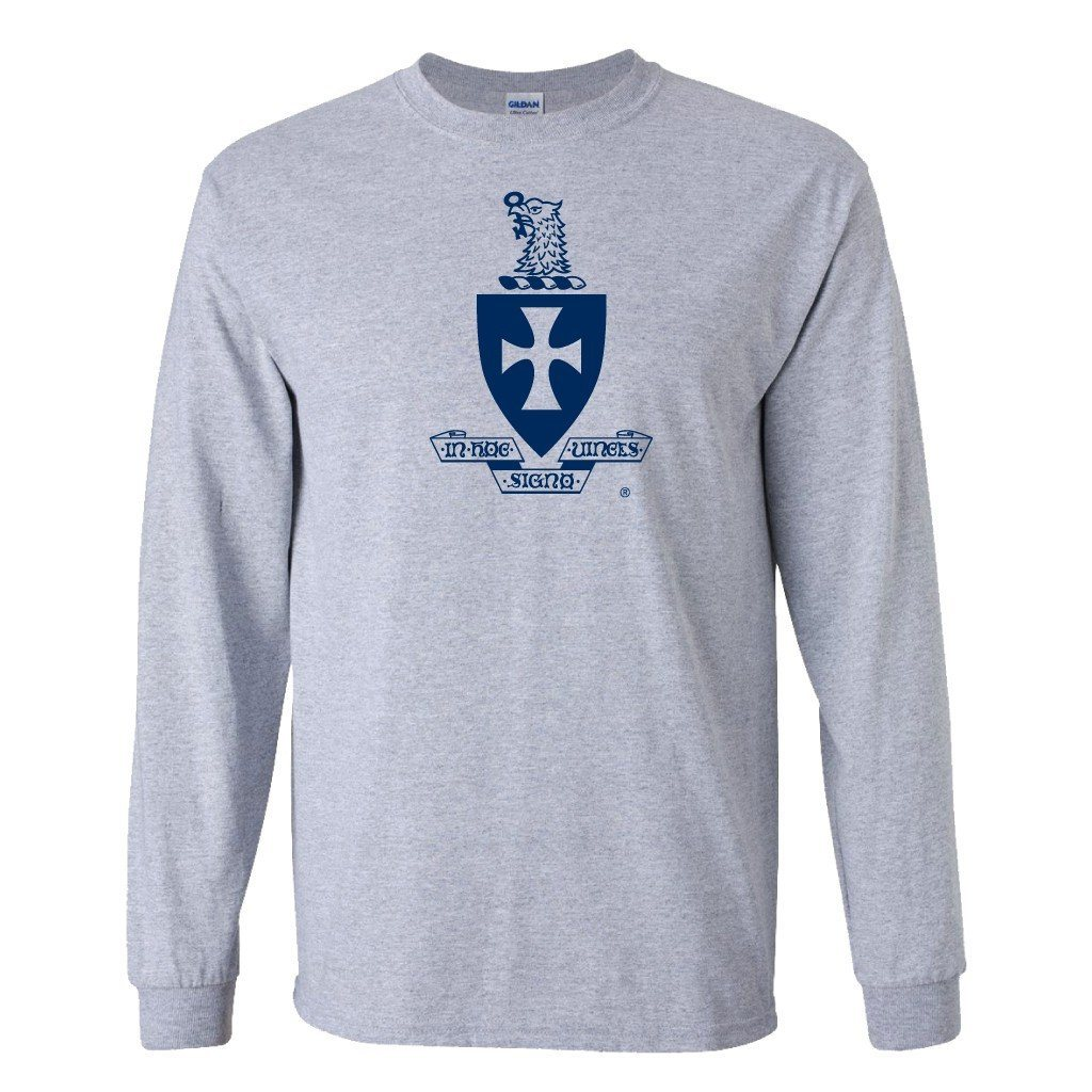 Sigma Chi Long Sleeve T-Shirt Coat of Arms Design - FREE SHIPPING
