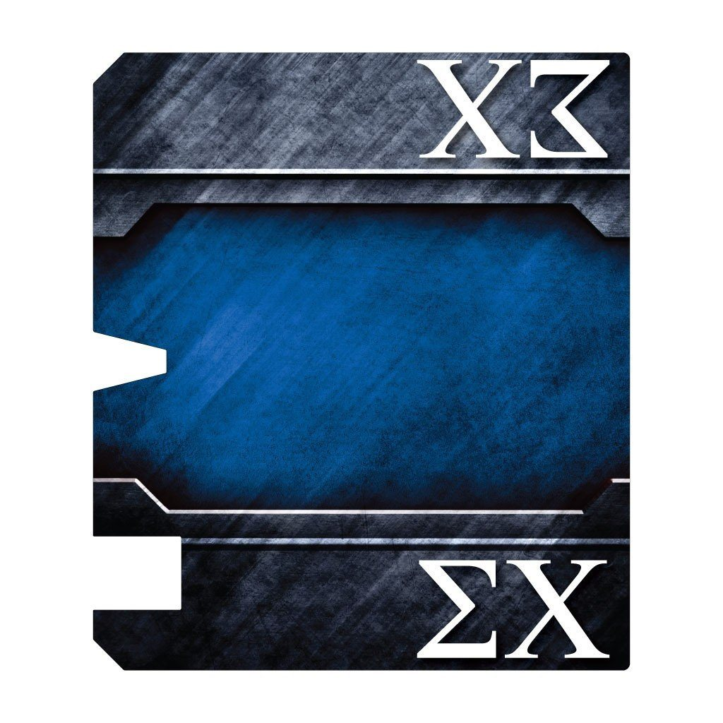 Sigma Chi Magnetic Mailbox Cover - Design 1