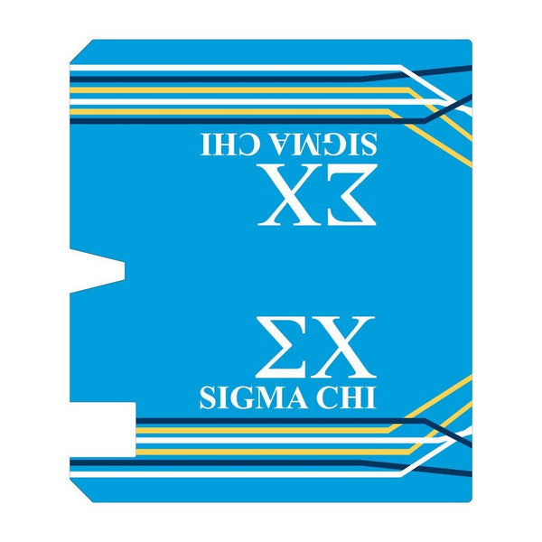Sigma Chi Magnetic Mailbox Cover - Design 2