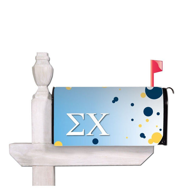 Sigma Chi Magnetic Mailbox Cover - Design 3