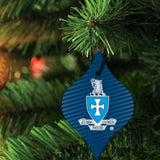 Sigma Chi Ornament - Set of 3 Shapes; Circle, Rectangle, and Tapered