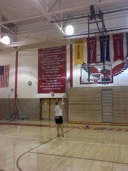 School Fight Song Banner - 10'x20'