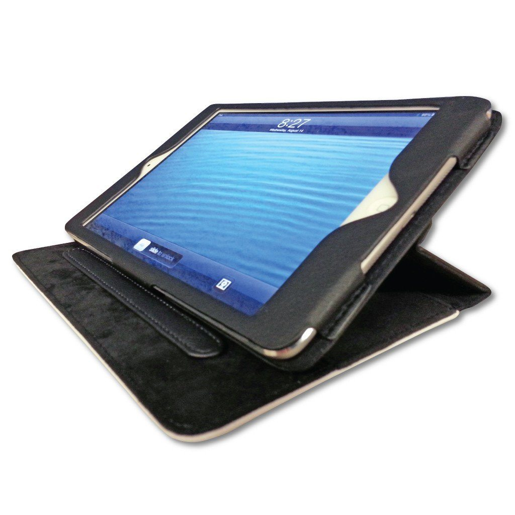 Blue Army Camouflage iPad 2, 3 & 4 Protective Leather Cover