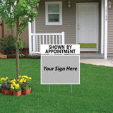 Shown By Appointment Sign Rider