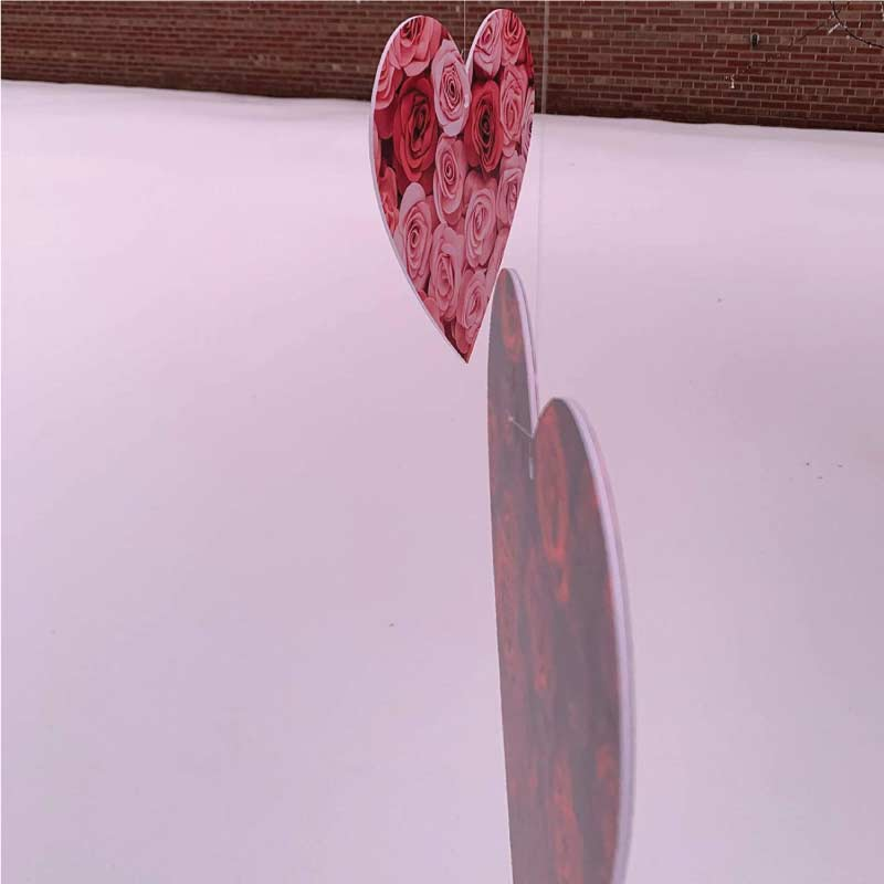 hanging plastic valentine's day hearts