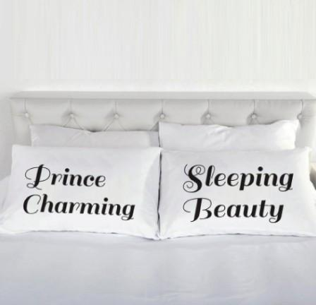 His and Her's pillows