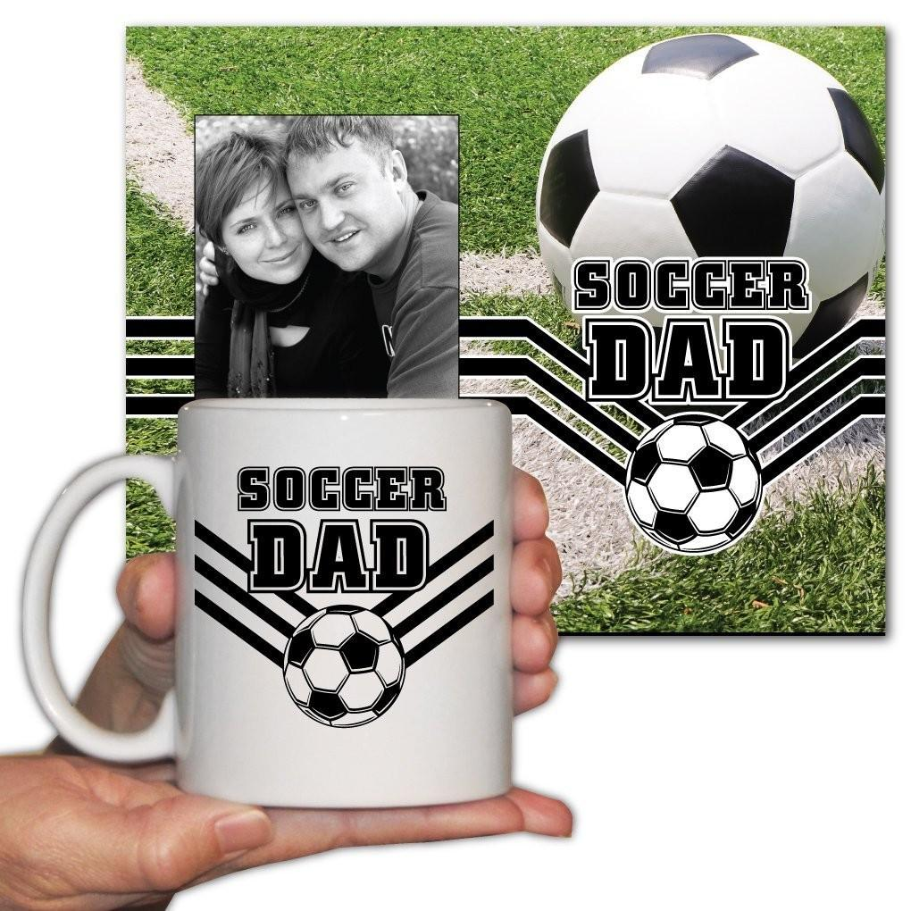Soccer Dad Office Set - Picture Frame and 11oz. Coffee Mug