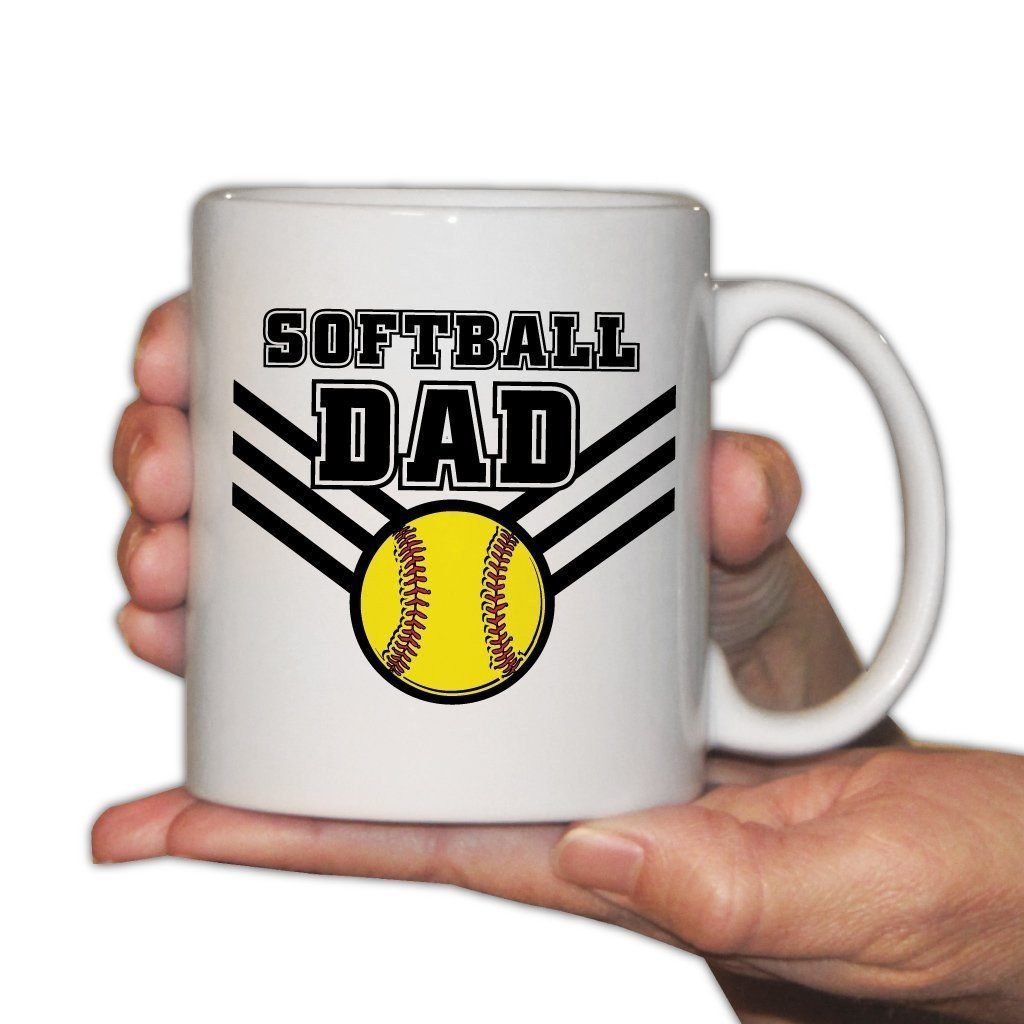 Softball Dad Office Set - Picture Frame and 11oz. Coffee Mug
