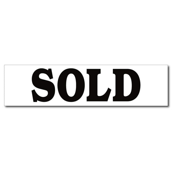 Sold Rider Sign